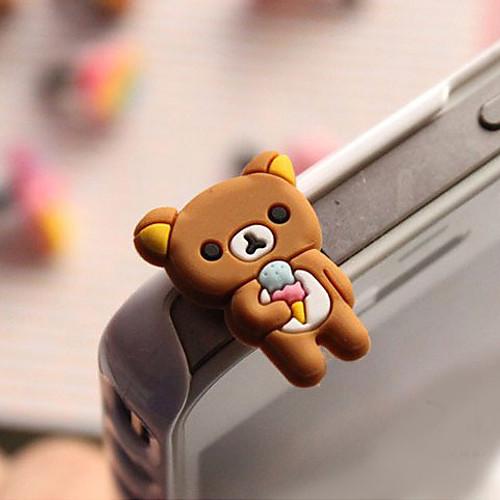 3,5 мм противопылевая заглушка для сотового телефона (медведь) Lightinthebox 59.000