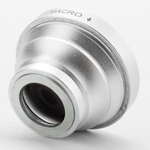 180 градусов рыбий глаз / широкоугольный объектив супер макро угол для IPhone, IPad и других мобильных телефонов Lightinthebox 987.000