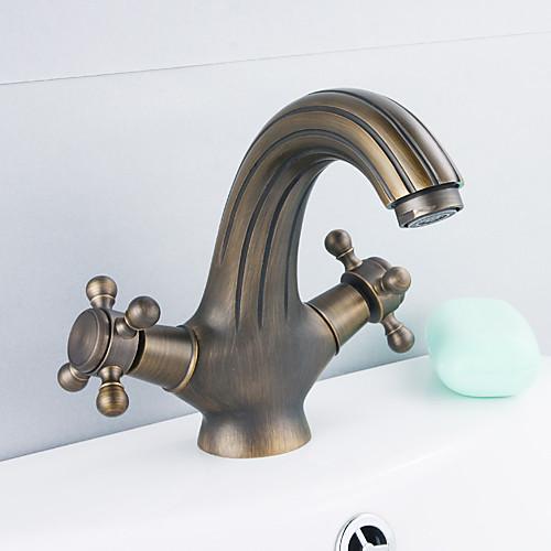 античная бронза Centerset Ванная раковина кран Lightinthebox 3437.000