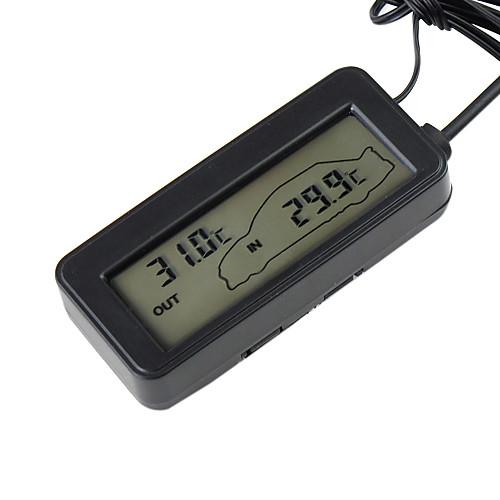 Цифровой внешний и внутренний термометр для автомобиля Lightinthebox 429.000