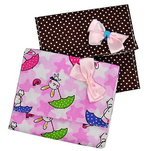 бабочкой санитарный пакет салфетки (3-х частей, разных цветов) Lightinthebox 64.000