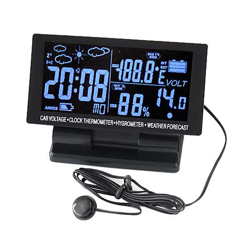 Цифровые часы со светодиодным дисплеем, термометром и гидрометром Lightinthebox 644.000