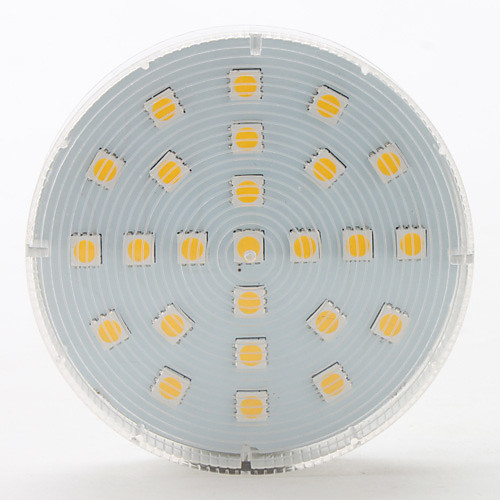 GX5.3 4W 25x5050 SMD 260lm 2800-3200K теплый белый свет привели пятно лампы (220-240V) Lightinthebox 300.000