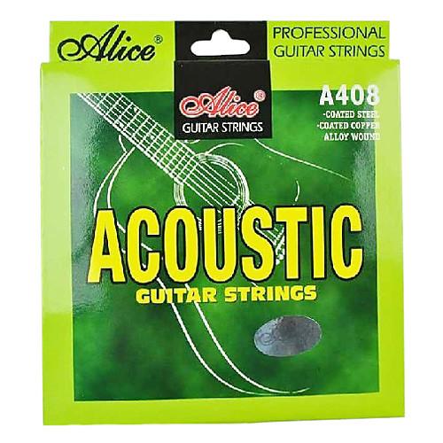 Алиса - (A408-L) стали акустические гитарные струны (012-053) Lightinthebox 171.000
