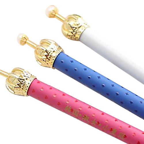 Шариковая ручка с короной на конце (разные цвета) Lightinthebox 85.000