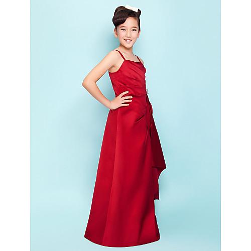 PRISCILA - Платье для подростков из атласа Lightinthebox 4296.000