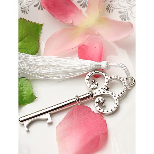Свадебная открывалка для бутылок в виде серебряного ключа Lightinthebox 85.000
