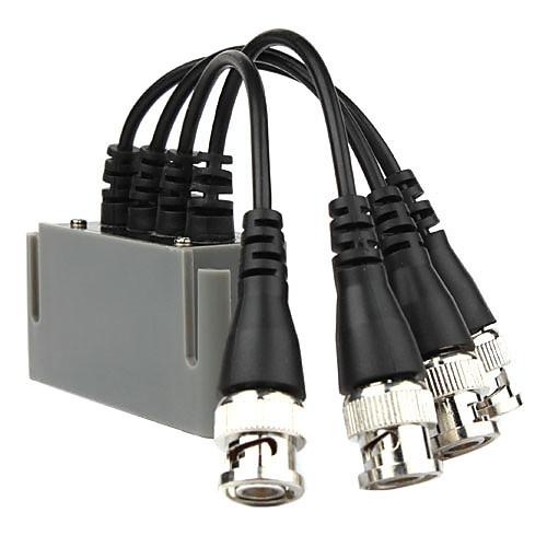 CCTV 4 канала UTP Cat5e BNC видео балун приемопередатчик  2 пары видео балун Lightinthebox 858.000