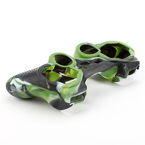 Защитный силиконовый камуфляжный чехол для геймпада PS3 (зеленый и черный) Lightinthebox 107.000