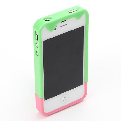 плавление мороженого модель относится к iphone 4 и 4S (разных цветов) Lightinthebox 182.000
