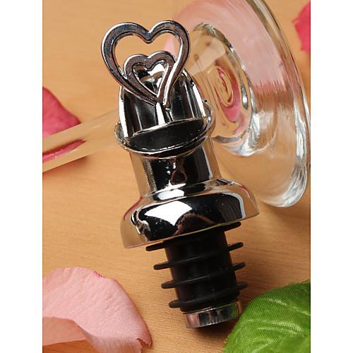 двойная конструкция сердца вино Pourer бутылки и пробку множество Lightinthebox 85.000