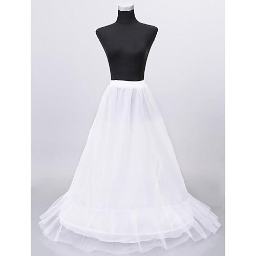 нейлона средней полноты скольжение пол llength юбки женщины свадьба Lightinthebox 858.000