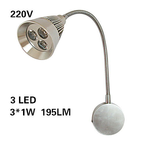3w руководством настенный светильник / прожектор / зеркала, лампы / винный шкаф огни Lightinthebox 2148.000