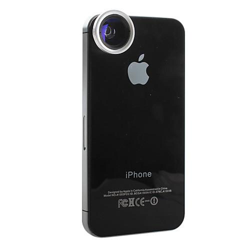 Съемная магнитная линза 2-в-1: 0,68-кратн. линза с широким углом и 4-кратн. макро для iPhone 4, 4S, the New iPad и iPad 2 Lightinthebox 300.000
