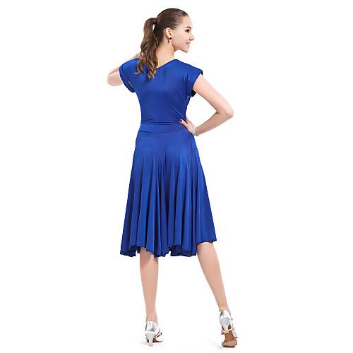 Вискозное платье для современных танцев (разные цвета)