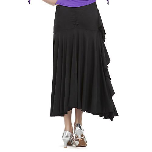 бального женщин полиэстер современного танца юбка больше цветов Lightinthebox 858.000