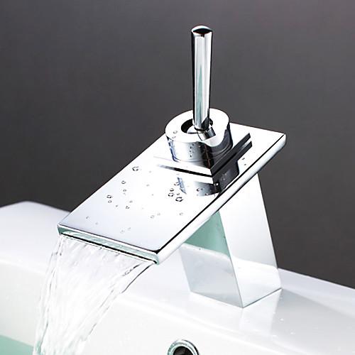 водопад современной кран раковины ванной - хромированная отделка Lightinthebox 3866.000