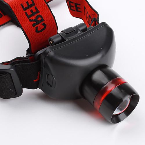 TK17 Регулируемый 3-режимный налобный LED фонарь с лампой Cree XR-E Q5