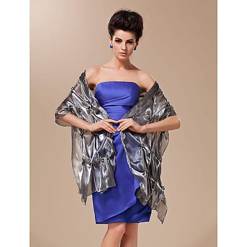Вечерняя/свадебная шаль из района с вышивкой жемчугом (разные цвета) Lightinthebox 1013.000
