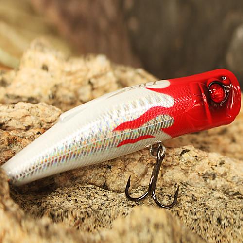 жесткий приманки поппер 90mm 19.5g поверхности воды пластиковые рыболовные приманки (цвет ассорти) Lightinthebox 257.000
