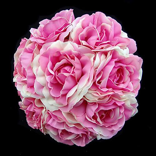 элегантная круглая форма атласа свадьбы букет невесты (больше цветов) Lightinthebox 644.000