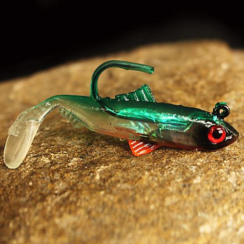 ловля на силиконовую рыбку с крючками