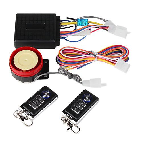 Профессиональная сигнализация с пультом управления для мотоциклов 120-125дБ Lightinthebox 730.000
