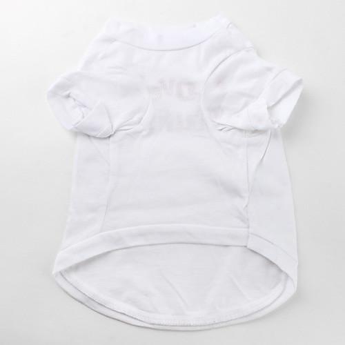 ерш любви простой рубашке собака хлопок (х-м, белый) Lightinthebox 137.000