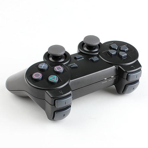 Беспроводной геймпад с вибрацией для PS3, PS2 и ПК (2,4 гГц, черный) Lightinthebox 599.000