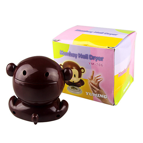 обезьяна стиль ветер автоматический сброс давления активирует ногтей сушки (питание от 2 ААА батареи) Lightinthebox 308.000