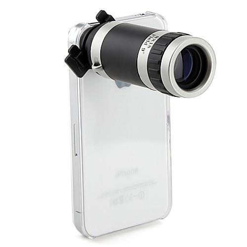 Оптическая линза с 8-кратным увеличением с жестки чехлом для iPhone4 4S Lightinthebox 429.000