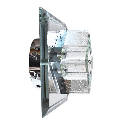 современный кристалл настенный светильник с 1 кубический световой дизайн Lightinthebox 3866.000