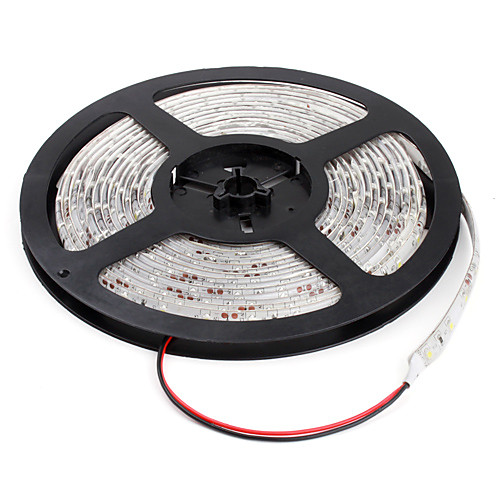 Непроницаемая 5 м светодиодная гирлянда белая 3528 SMD 300 светодиодов Lightinthebox 944.000