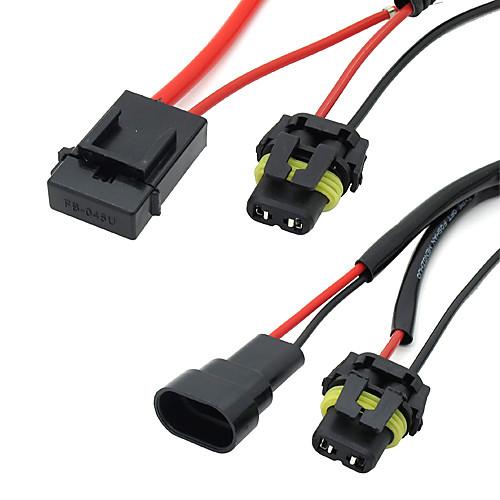 Автомобиль Авто HID Xenon Преобразование Harness предохранителя реле для 9005/9006 Lightinthebox 300.000