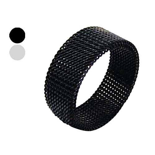 титановые стали 8 мм сетчатый трансмутируемых кольцо Lightinthebox 128.000