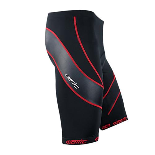 Coolmax материал Сантич-мужской велосипедные 1/2 брюках красный след Lightinthebox 1159.000