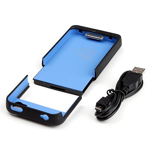 Зарядка, дополнительная, чехол для Iphone 4, 4S (1900 mAh) Lightinthebox 287.000