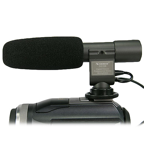 SG-108 PRO DV стерео микрофон для Canon, Pentax, Nikon Lightinthebox 944.000