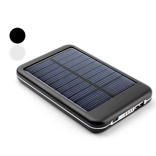 5000 мАч портативная USB внешняя солнечная батарея для iPhone, iPad, сотовых телефонов (разные цвета) Lightinthebox 900.000