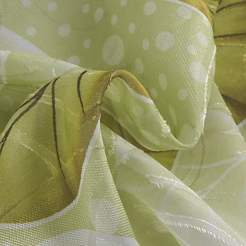 (Две панели) зеленая страна лист чистый занавес Lightinthebox 1718.000