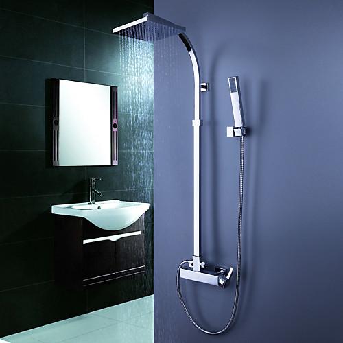современной ванной смеситель для душа с 8-дюймовым верхний душ  ручной душ Lightinthebox 7304.000