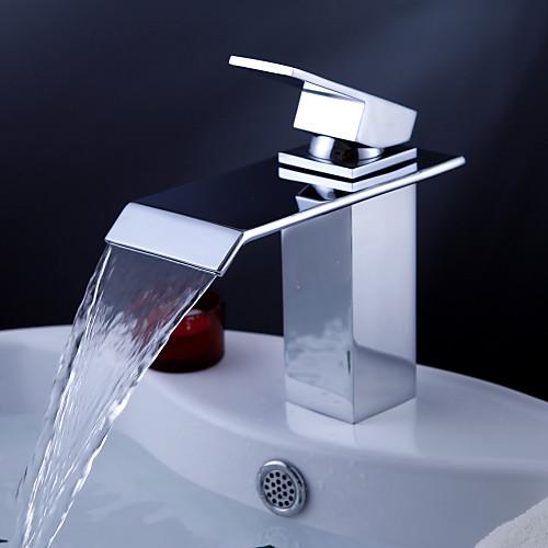 современный водопад ванной комнате раковина кран Lightinthebox 3866.000
