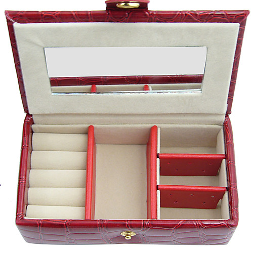 небольшая бабочка alligatoring кожи ladies'jewelry ящик (несколько цветов) Lightinthebox 1933.000