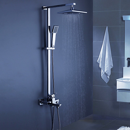 современной ванной смеситель для душа с 8-дюймовым верхний душ  ручной душ Lightinthebox 10312.000