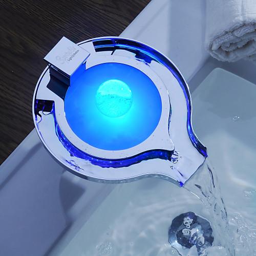 Sprinkle от Lightinthebox - светодиодный смеситель-водопад для ванной (меняет цвета) Lightinthebox 7347.000
