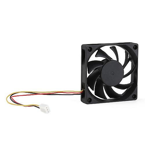 3-контактный AMD вентилятор 70мм два мяча подшипников Lightinthebox 42.000