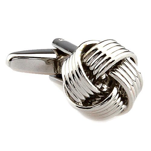 полые запонки серебро Lightinthebox 472.000