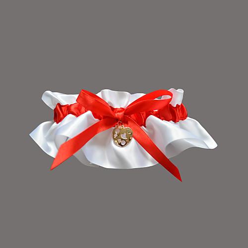полиэстер / сатин с стразами / возлюбленной свадьба подвязки Lightinthebox 192.000