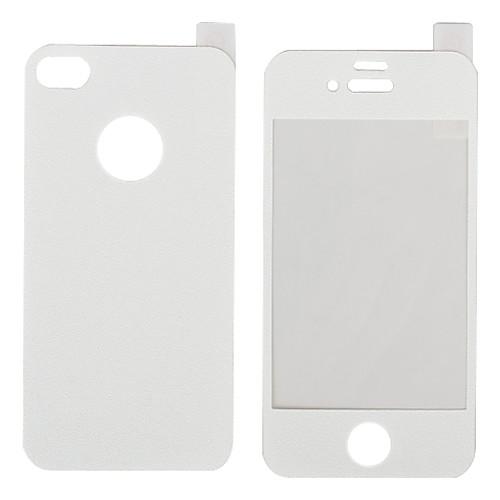 Цветная задняя и передняя защитная пленка для iPhone 4 и 4S (разные цвета) Lightinthebox 88.000