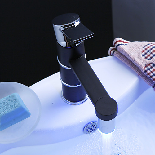 изменение цвета привело кран ванной комнате раковина с всплывающее отходов Lightinthebox 2706.000